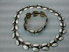 Andresen & Scheinpflug sterling  925S Norway enamel  necklace bracelet earrings