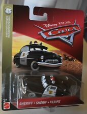 Disney Pixar Cars SHERIFF Radiator Springs  NEW