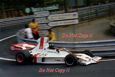 Graham Hill Embassy Racing Shadow DN1 Spanish Grand Prix 1973 Photograph 1