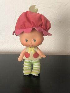 Vintage Strawberry Shortcake Cherry Cuddler Doll Baby Posable Toy