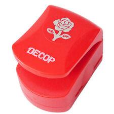 5DECOP Embossed Craft Punch 32mm (1.25inch) Elegant Rose