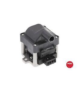 NGK Ignition Coil fits VOLKSWAGEN GOLF MK3 & MK4 1E 92-03 1.8L & 2.0L U1001
