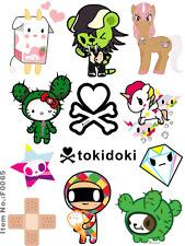 Tokidoki Cartoon Skateboard Snowboard Luggage Car Bike Vinyl Stickers F0065