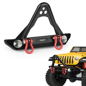Front Bumper Anti-collision With Pull Ring for Axial SCX24 90081 Jeep RC Car KYX
