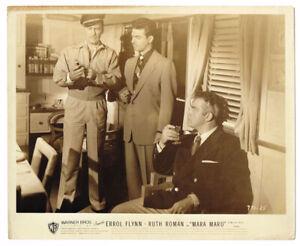 ERROL FLYNN RAYMOND BURR HUNT TREASURE MARA MARU ORIGINAL MOVIE PHOTOS LOT 1952