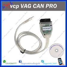 VCP VAG CAN PRO INTERFACCIA CAN BUS UDS K-LINE S.W.5.5.1 ITALIANO CODIFICHE VIM