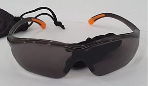 Safety PPE Sunglasses UV Protection for work/site/sport/cycling (Grey)