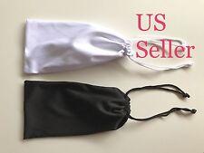 US Seller Microfiber Pouch Bag Soft Cleaning Case Sunglasses Eyeglasses 2 PC