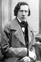 8x12 Photo Frederic Chopin Polish Piano Composer  Only 2 known Photos Found