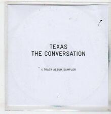 (EV773) Texas, The Conversation 4 track sampler - 2013 DJ CD