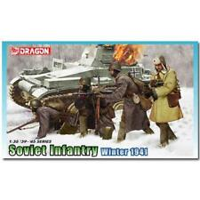Dragon 1/35 scale SOVIET INFANTRY WINTER 1941