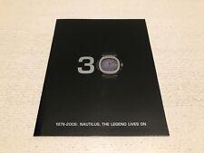 Catálogo PATEK PHILIPPE Catalogue - Nautilus 30th Anniversary - 2006 Watches