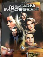 Mission: Impossible - First Season (DVD, 2006, 7-Disc Set) Like New To Very Good