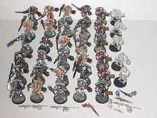 Warhammer 40K Caballeros Gris 35x metal fuera de armadura de alimentación/Paladines