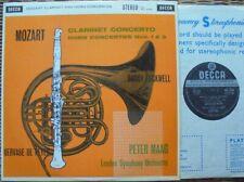 SXL 2238 WBG ED.1: MOZART CLARINET & HORN CONCERTOS - PETER MAAG: EX+