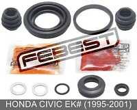 Rear Brake Caliper Repair Kit For Honda Civic Ek# (1995-2001)