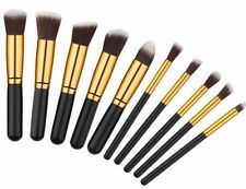Pro Makeup 10pcs Brushes Set Eyeshadow Eyeliner Lip Powder Foundation Tool HZ66