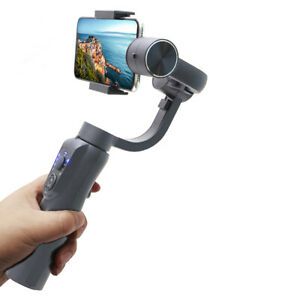 3-Axis PTZ Phone Handheld Gimbal Stabilizer Wand Stick For iPhone Huawei Samsung