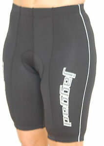Jaggad Black Cycling bike Knicks pants reflective Womens Mens S M L XL XXL #99