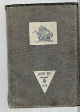 1928 Jefferson High School Year Book, Jefferson, Oregon