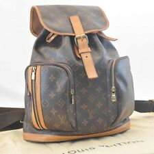 Authentic  Louis Vuitton Monogram Sac Bosphore Backpack M40107 #460