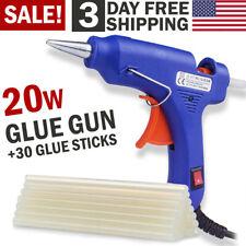 Hot Melt Glue Gun with Glue Sticks Repair Tool Kit Electric Heat DIY Art Crafts