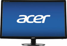 "Acer - 27"" LED HD Monitor - Black"