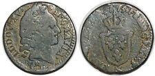 LOUIS XV  SOL D'AIX 1773 & G.279