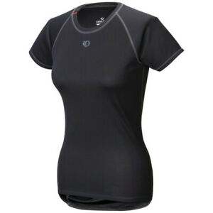 Pearl Izumi Women's Transfer Short Sleeve Cycling Baselayer - Black (M, L)