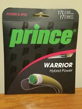 Prince Warrior Hybrid 17 Gauge Premier Power 1.25 mm 40' + 17L Tour XC 1.22 40ft