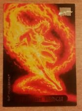 MARVEL Masterpiece 1994 Card Human Torch #52 Collectors Edition