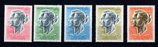 MONACO - PA - 1966 - Effigi dei Principi - Serie Completa 5 valori -