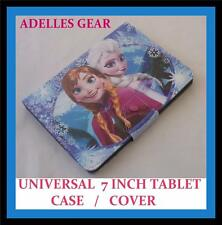 KIDS OR CHILDRENS UNIVERSAL 7 INCH TABLET COVER CASE -FROZEN ELSA AND ANNA