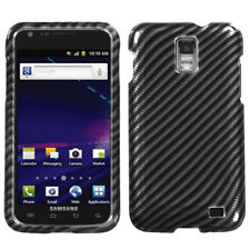 For Samsung Galaxy S2 Skyrocket i727 Racing Fiber (2D Silver) Phone Case Cover