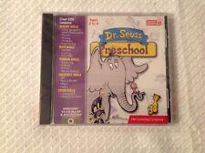 Dr. Seuss Preschool , Pc Software , Scholastic Age 2 - 4