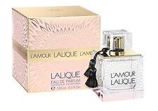 L' AMOUR by LALIQUE Eau de Parfum Spray for  Women ~ 3.3 oz / 100 ml