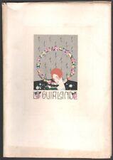 Revue La Guirlande. Album Mensuel d'Art et de Littérature n°2. Brunelleschi 1919