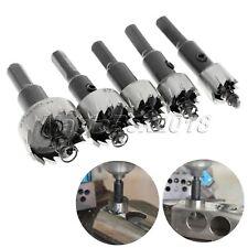 16mm 18.5mm 20mm 25mm 30mm HSS Steel Hole Saw Cutter Drill Bits Set For Metal
