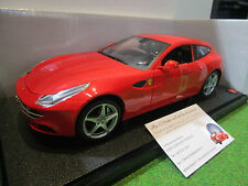 FERRARI FF rouge echelle 1/18 d HOT WHEELS X5524 voiture miniature de collection
