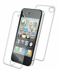 invisibleSHIELD Cell Phone Screen Back Scratch Protector fits Apple iPhone 4 4S
