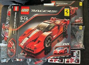 🔥LEGO Ferrari FXX 1:17 (8156) Open Box Sealed Bags FREE! Shipping Super Rare 🔥