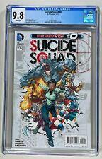 SUICIDE SQUAD #0 CGC 9.8 NM/MT WHITE (2012) HARLEY QUINN 🔑