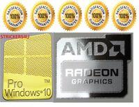 3PCS amd vision nvidia cuda quadro ati radoeon xeon core i5 vpro cpu sticker
