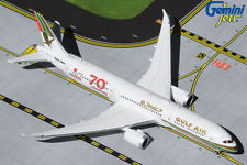 "GEMINI JETS (GJGFA1909) GULF AIR ""RETRO"" 787-9 1:400 SCALE DIECAST METAL MODEL"