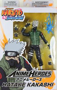 Anime Heroes ~ HATAKE KAKASHI Action Figure ~ Series 1 ~ Bandai / Shonen Jump