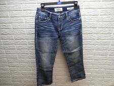 Daytrip Embroidered & Bling Virgo Capri Jeans Size 26