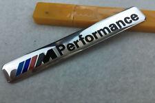 1X 3D Aluminum ///M performance Emblem Badge Stickers Decal For BMW Car M Series