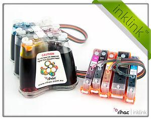 RIHAC CISS for Canon TS5060 & TS6060 PGI-670 CLI-671 Cartridges Ink System CIS