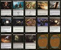 The Black Death   MTG Magic The Gathering Black 60 Card Modern Deck Lot Rares