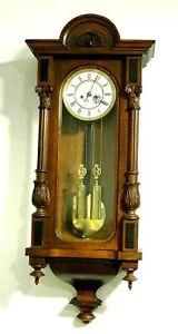 Wunderschöner  MINI 2-Gewichts Regulator um 1840 Top REMEMBER